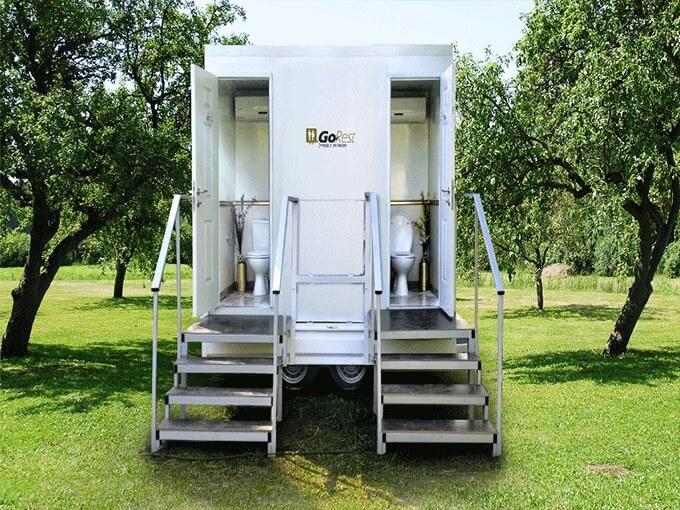 תאי שירותים ניידים דגם Twins
