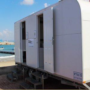 תאי שירותים ניידים דגם Dream